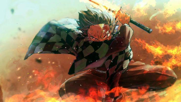 Kamado Tanjiro Wallpaper Engine   Demon Slayer Wallpaper Live   Anime wallpaper live, Wallpaper ...