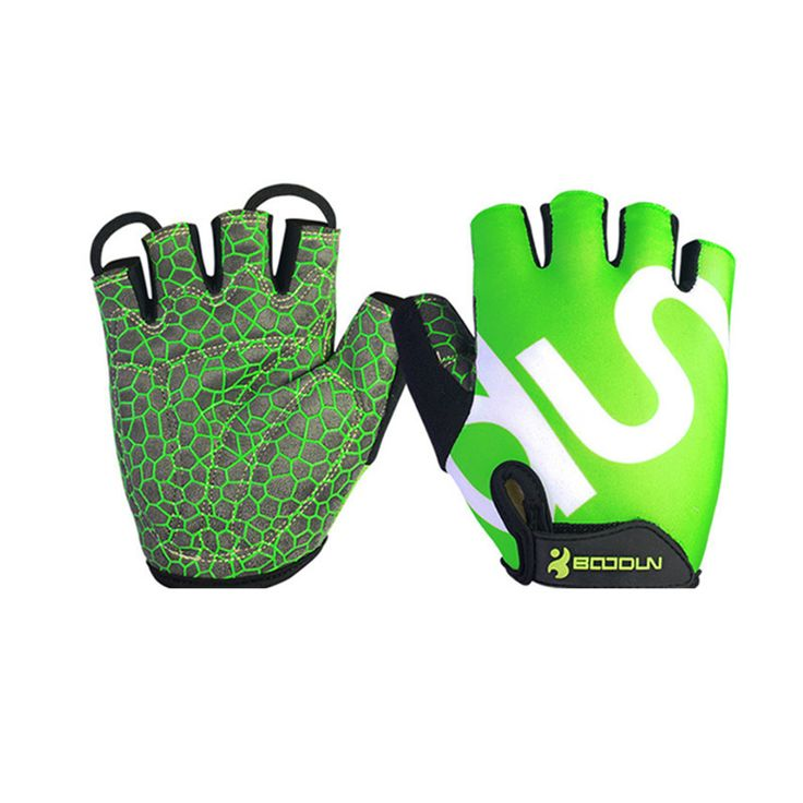 Mens Cycling Gloves Guanti Motocorss Guantes Mtb Riding Bicycle Gym Fitness Gloves Luvas Ciclismo Mtb Bike Gloves Half Finger #Affiliate