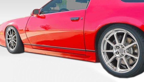 Duraflex 82 92 Camaro Firebird Trans Am Gt Concept Side Skirts Kit Camaro Pontiac Firebird Firebird Trans Am