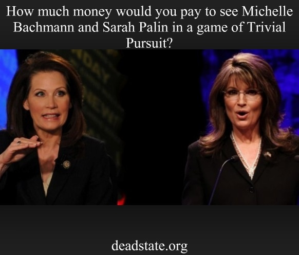 Throw in Herman Cain & Rick Perry and there isn't an amount I wouldn't pay.