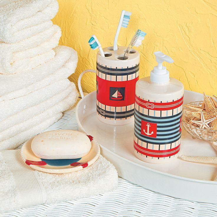 Best 25 Beach Themed Bathrooms Ideas On Pinterest: Best 25+ Nautical Bathroom Accessories Ideas On Pinterest