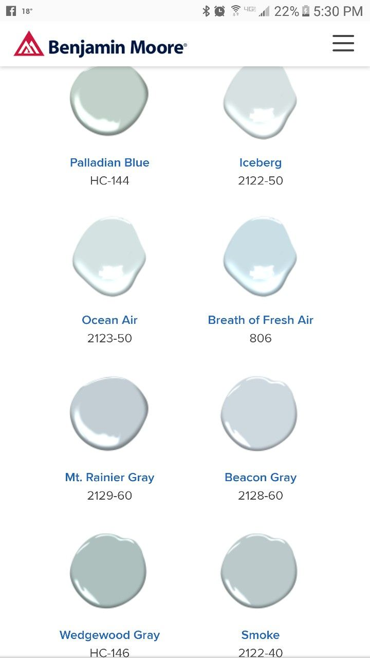 Pin By Jan Morrison On Havey House Paint Colors Palladian Blue Benjamin Moore Paint Colors For Home Palladian Blue