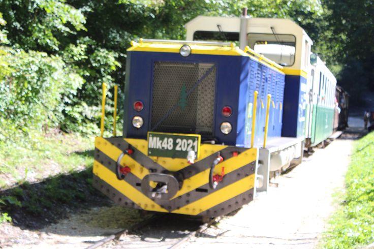 Az Északerdő hybrid mozdonya. #miskolc #lillafüred #hungary #magyarország #ómassa #erdészet #forest #train #kisvasút