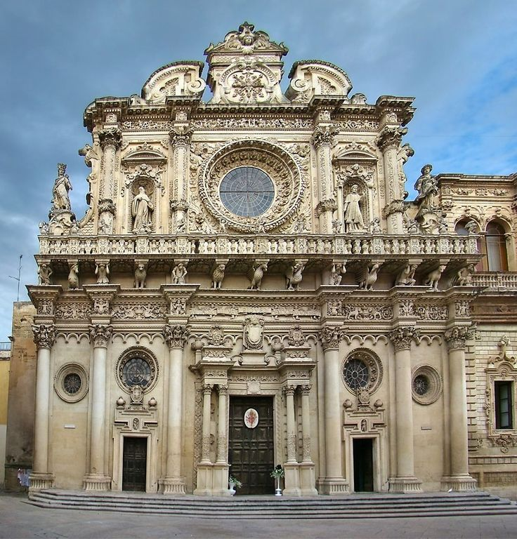 Стиль барокко в архитектуре: описание и фото   Флоренция ...