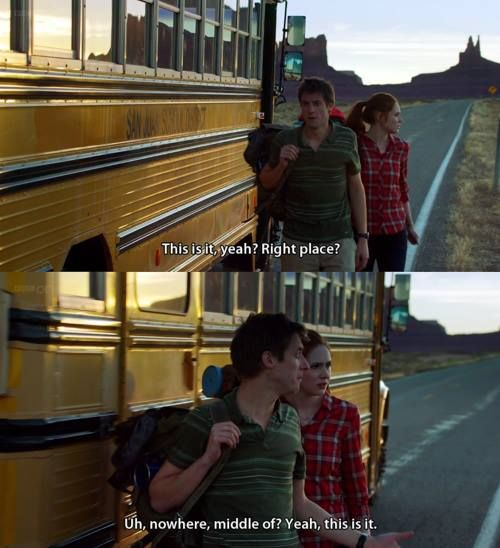 Uh, are we not going to discuss how The Ponds took a freaking SCHOOL BUS to meet The Doctor? I just noticed that…