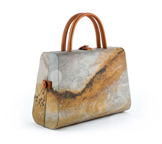 CIEGO par Julie Zafiro le sac en pierre