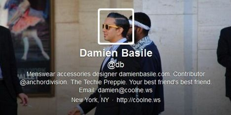 Damien Basile @db - http://ebooks2buy.biz/TweetSuccessGuide/
