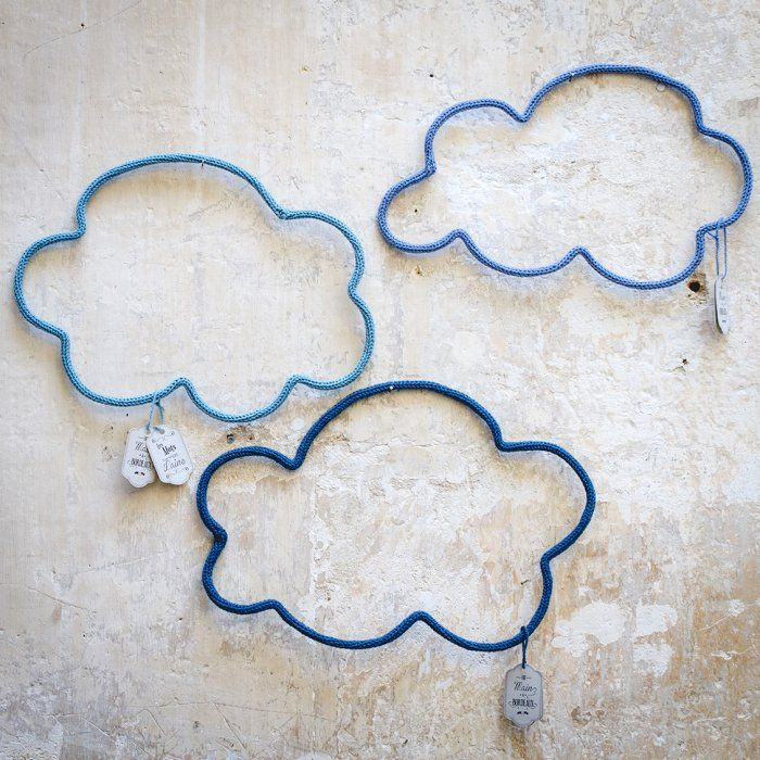 Grand nuage en laine - LE PETIT FLORILEGE - Boutique d'objets de décoration d'intérieur