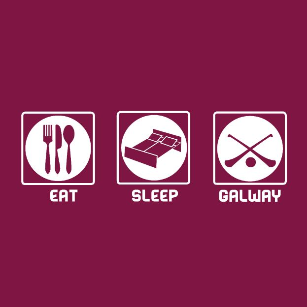 Eat-Sleep-Galway Gaa T-Shirt