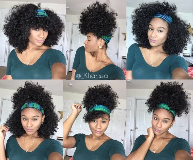 Add a scarf to the mix. | 17 Gorgeous YouTube Tutorials That Are Perfect For People With Curly Hair