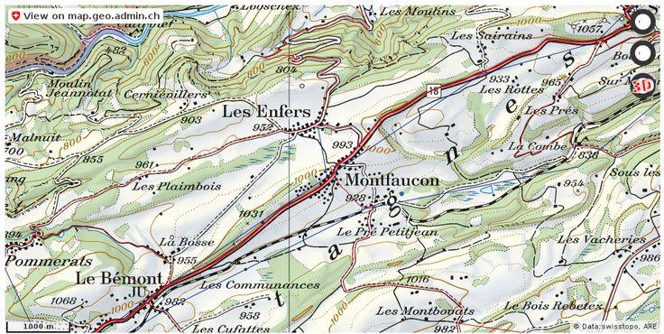 Montfaucon JU Verkehr Stau Staumeldungen http://ift.tt/2nHEMfC #karten #schweiz