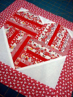 Heart Quilt from Tallgrass Studio               #quilt  #quilt pattern  #heart quilt