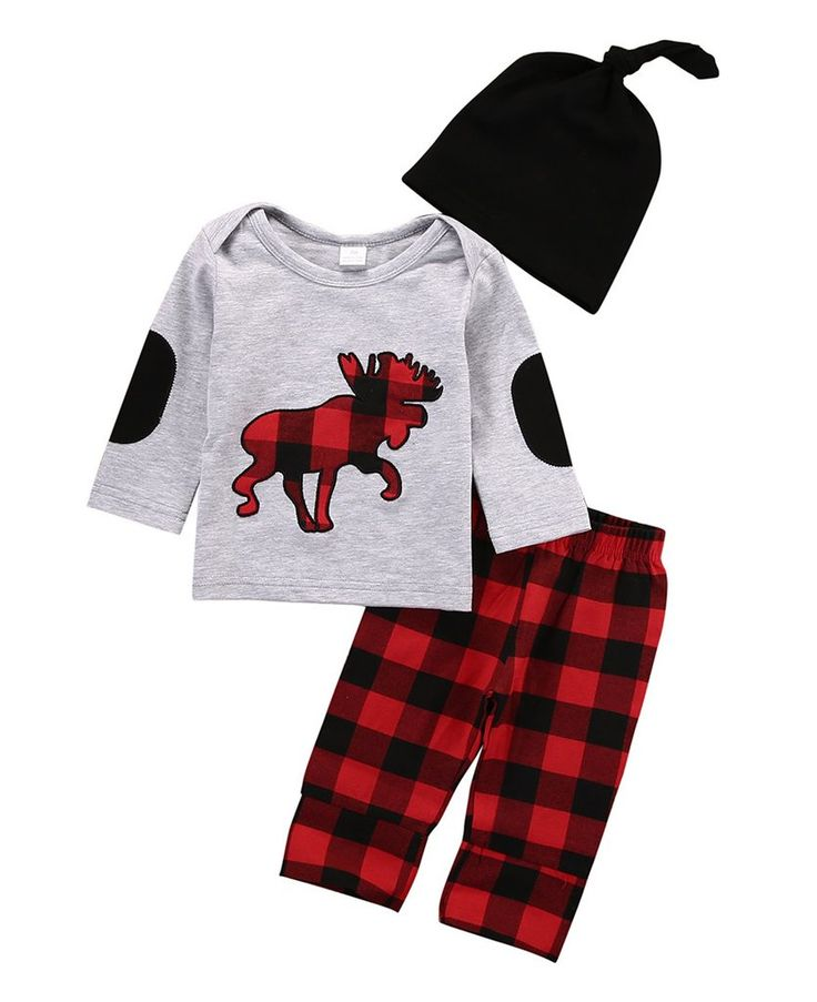 Plaid Reindeer Set. #petitelapetite #top #bottom #pants #set #reindeer #plaid #checkered #animal #boys #hipster #babyclothes #onesie #onesies #onesieset #bodysuit #fall #spring #babyclothes #bodysuitset #romperset #baby #babies #toddler #toddlers #clothing #cute #toddlerwear #babywear #springclothes #fallclothes #clothes #cotton #babyclothesforsale #cutebabyclothes #coolbabyclothes #uniquebabyclothes #trendybabyclothes  #babyclothessale #babyclothesideas #babyclothesus #freeshipping