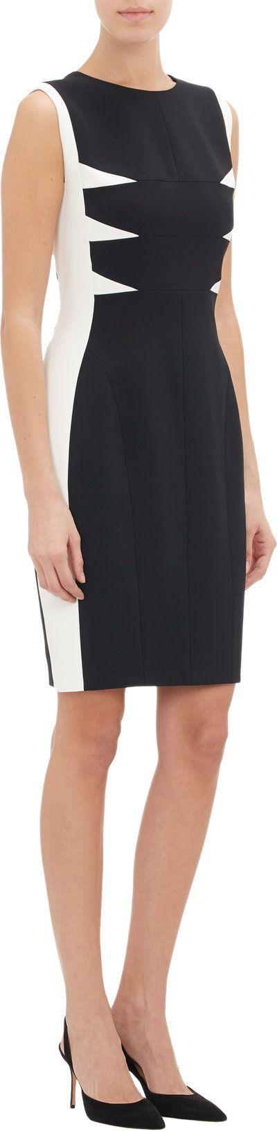 Narciso Rodriguez Colorblock Shift Dress at Barneys.com