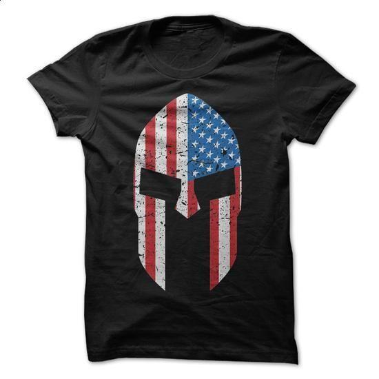 American Spartan Flag T-Shirt - hoodie outfit #hoddies #offensive shirts