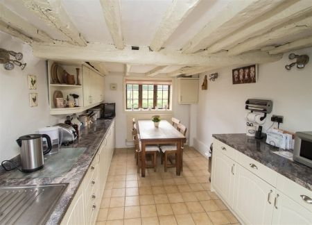 An ideal character cottage style kitchen within the 3 bedroom 16th Century Grade II detached property in Leeds, Maidstone. Backing on to the famous Leeds Castle grounds with spectacular views and a homely feel. £535,000 - Contact Page & Wells now to view!