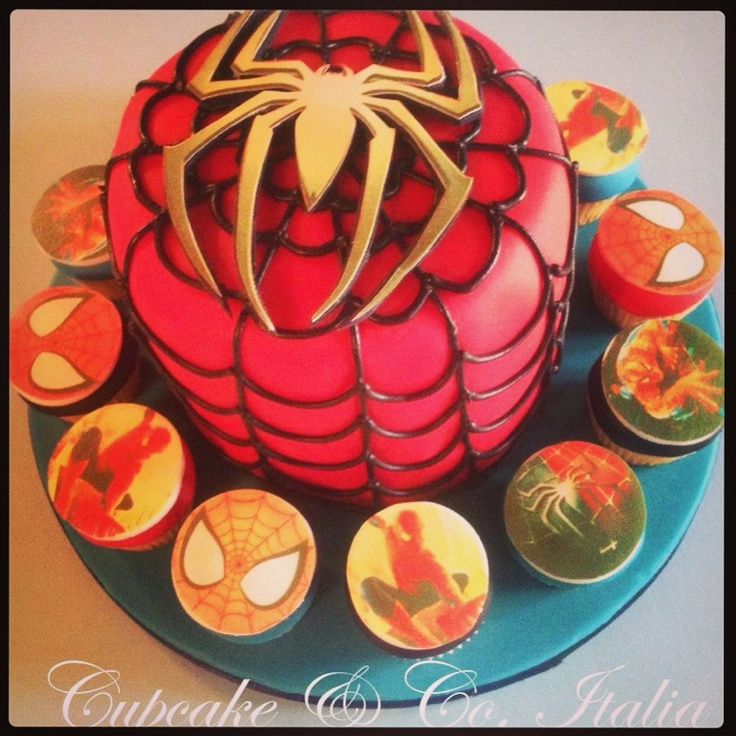 Spiderman Bday cake !  |Pinned from PinTo for iPad|