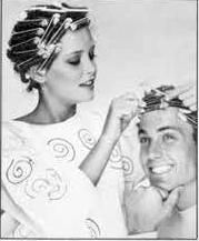 perm for my husband too Hair rollers mania Pinterest - 80S Hairstyles Mens