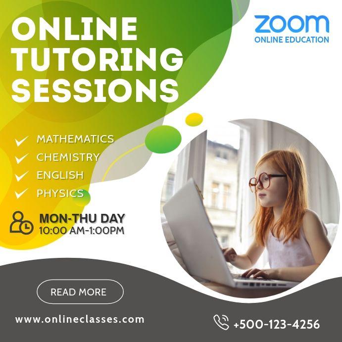 Zoom Online Cles Social Media Post