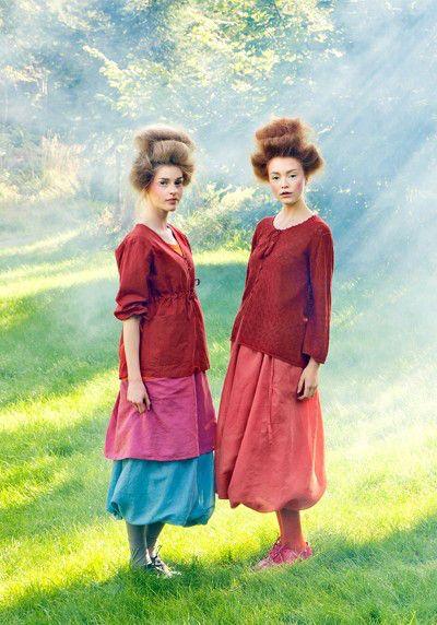 Этническая эко-мода Gudrun Sjoden | Хвоя