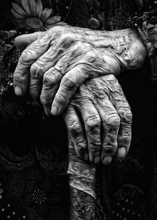 Hands tell the story of our lives. The work, the play, and the life people have lived.                                                                                                                                                     More