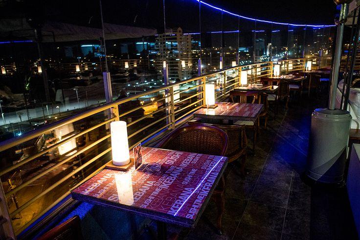 Vista Cavancha, Ikebana Japanese Cuisine, 8vo piso de Hotel Sunfish Iquique - Chile.