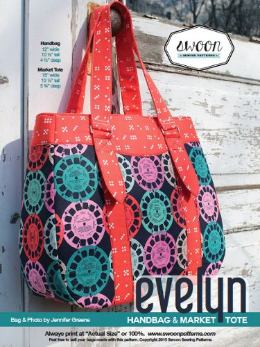 Swoon Patterns - Evelyn Market Tote, £6.50