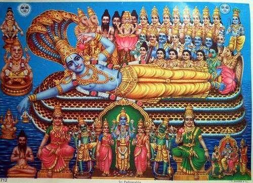 Lord Vishnu - Narayana