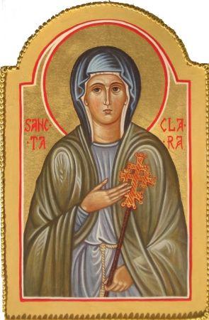 17 Best images about icone santa Chiara-san Francesco on Pinterest ...