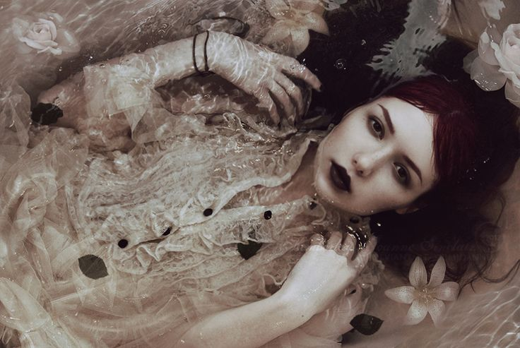 #flowerbath #underwater #flowers #girl #photography #bath #dream #dark #beautiful  #water #Ophelia #makeup