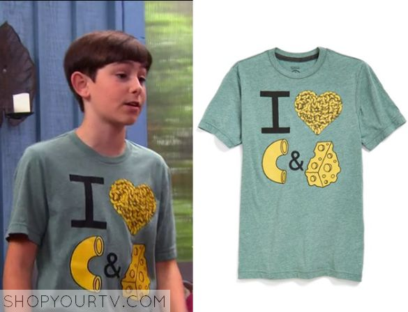 The Thundermans: Season 3 Episode 4 Billy's I Heart Mac and Cheese Tee