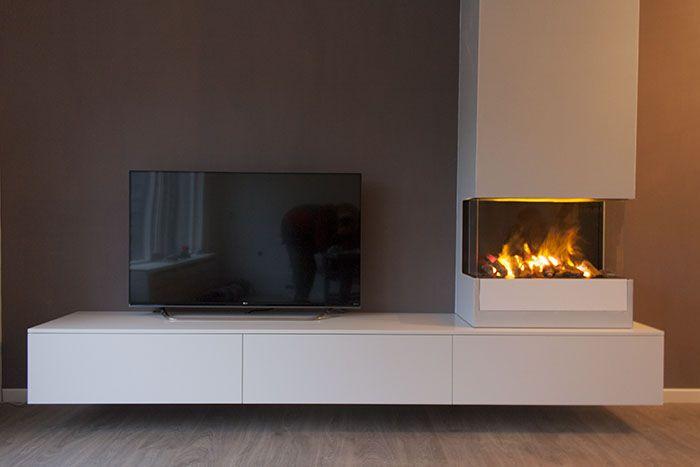 Afbeeldingsresultaat Voor Tv Meubel Met Elektrische Haard Elektrische Haarden Thuisdecoratie Home Deco