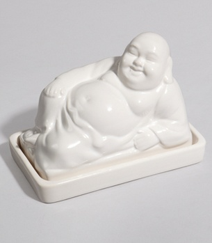 buddha butter dishBuddha Butter, Fun Stuff, Kitchens Accessories, Eclectic Food, Awesome Pin, Dishes 2600, Butter Dishes, Fred Flare, Food Container