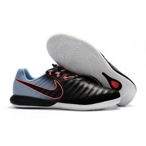 Nike Tiempo - Chuteira De Futsal Nike TimpoX Finale IC Homens Preto Vermelho 47d623d21a91a