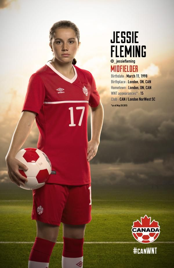 Jessie Fleming #FIFAWomensSoccer #CanadaRED