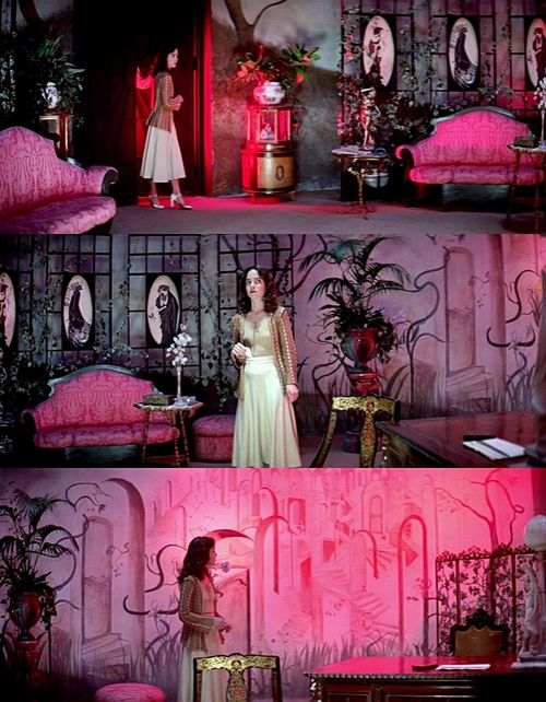 Suspiria. Horror fan or not I recommend this movie just for the beautiful colors and eerie music.