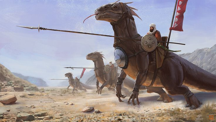 ArtStation - Desert Rider, Asim Steckel