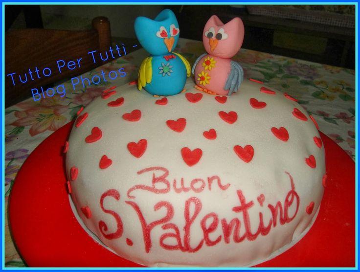 TuttoPerTutti: LA TORTA DEI GUFETTI INNAMORATI - TUTORIAL PASSO A PASSO - Speciale S.Valentino   http://tucc-per-tucc.blogspot.it/2014/02/cucina-dolci-i-gufetti-innamorati.html