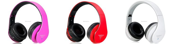 Wireless On-ear Stereo Bluetooth Headset with Card Slot free shipping Price:$38.60 http://myurl.cz/tbm1w