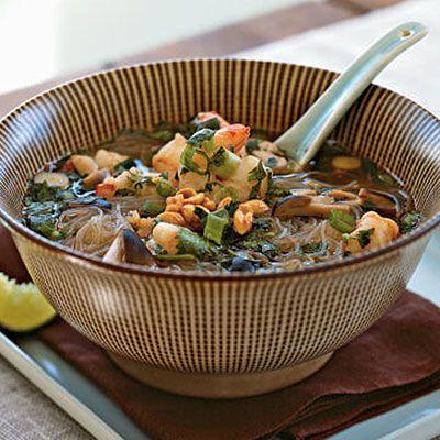 Tom Yum Goong (Spicy Thai Shrimp Soup) - Best Shrimp Recipes - Cooking Light