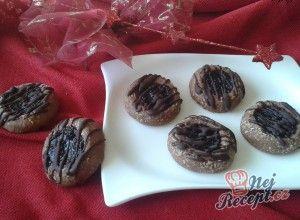 Sváteční kakaové sušenky