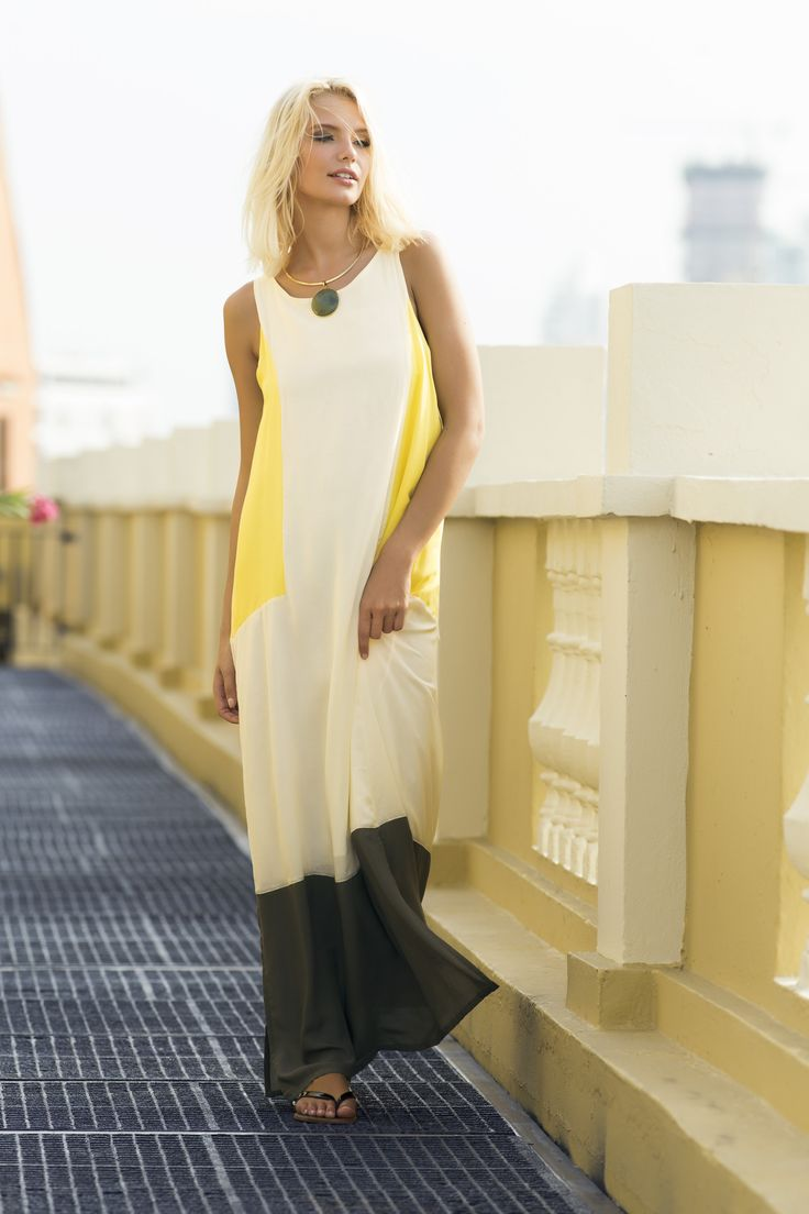Honeygold Maxi Dress / Shop Online at www.touche.com.co Touche Collection Swimwear