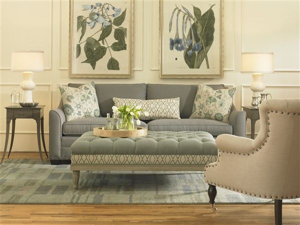 Merveilleux Shop For Vanguard Living Room Sets, And Other Living Room Sets At Hickory  Furniture Mart In Hickory, NC. Nail Trim: Black Silver Nails Spaced On  Base, ...