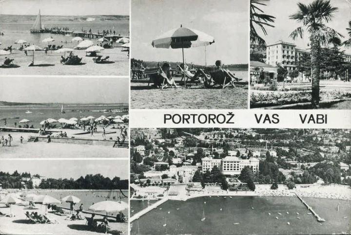 Portorož. Postcards from the past