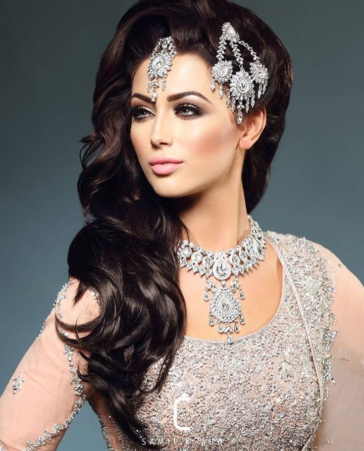 Excellent 1000 Ideas About Indian Wedding Hairstyles On Pinterest Indian Hairstyle Inspiration Daily Dogsangcom