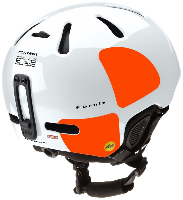 Amazon.com : POC Helmets and Armor Fornix Backcountry MIPS Ski Helmet : Sports & Outdoors