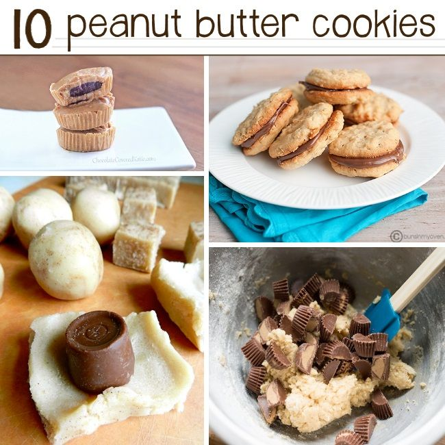 Easy Peanut Butter Cookie Recipes  Cookies, cookies, and more cookies!