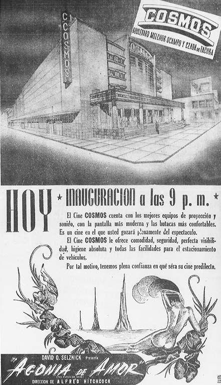Ubicado en la calzada México-Tacuba, el Cine Cosmos lucha contra el olvido desde hace más de 25 años.