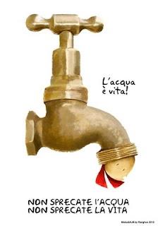 Illustrazione di Mobu - L'acqua è vita!