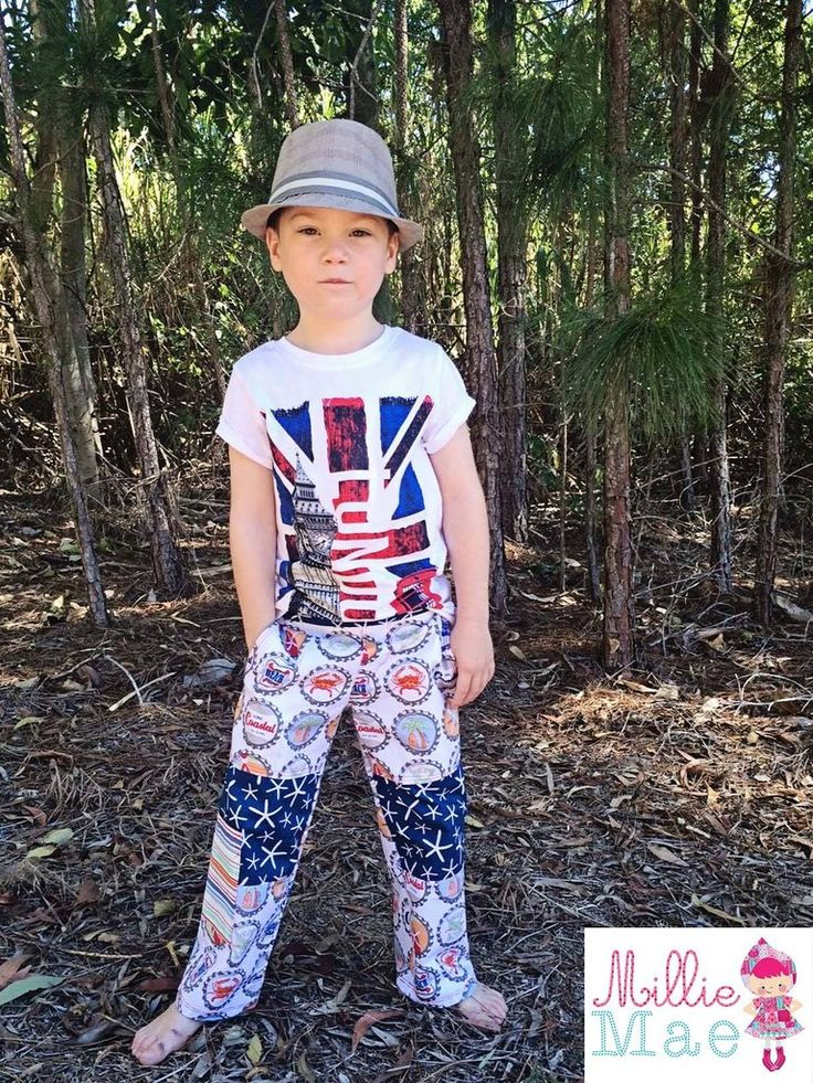 Boys cargo pants sewing pattern. Lots of pockets to choose from. Follow our topstitching tips for a professional look. Easy to download so you can start sewing today.